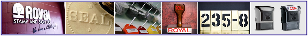 Royal Rubber Stamp Co. Ltd. | Since 1957... Order Today!... Ship Today!